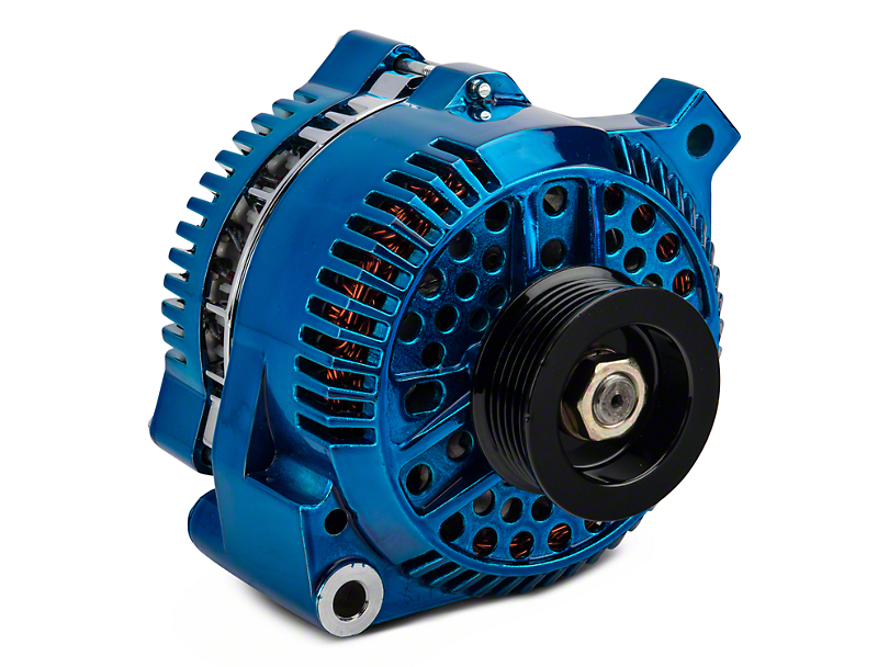 PA Performance Alternator - 130 Amp - Blue (94-95 GT; 94-00 V6)