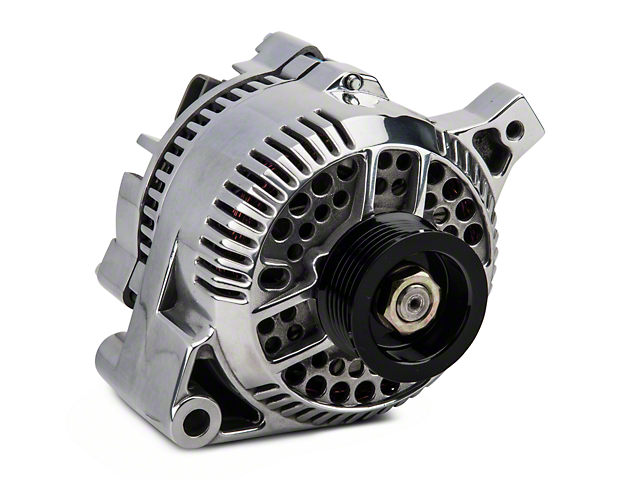 PA Performance Alternator; 95 Amp; Polished (87-93 5.0L)