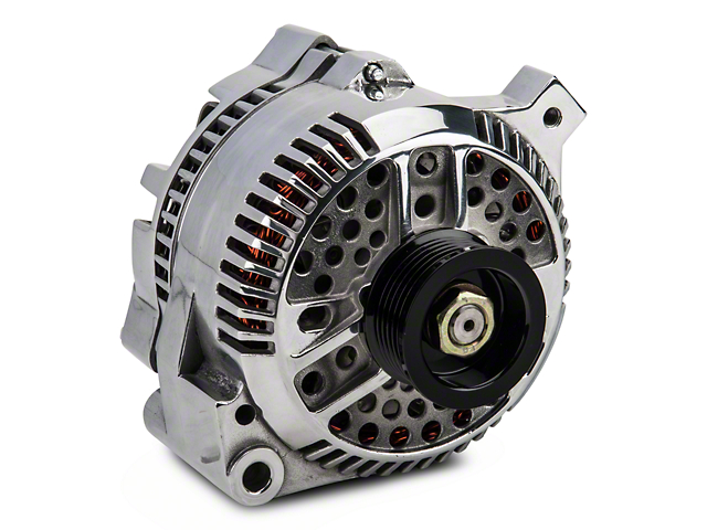 PA Performance Alternator - 130 Amp - Polished (87-93 5.0L)