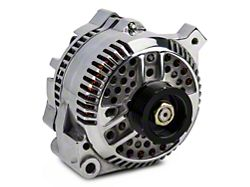 PA Performance Alternator; 130 Amp; Polished (87-93 5.0L)