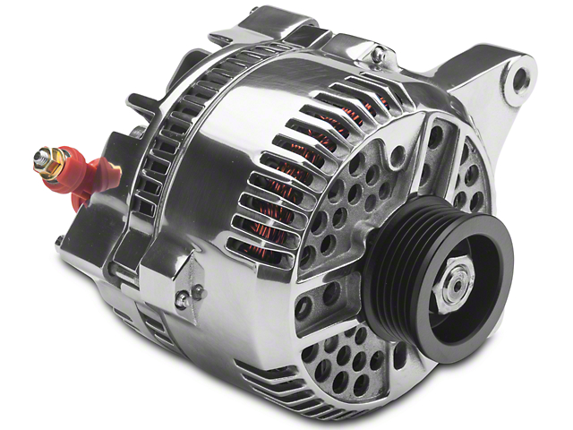 PA Performance Alternator; 130 Amp; Polished (96-98 GT)