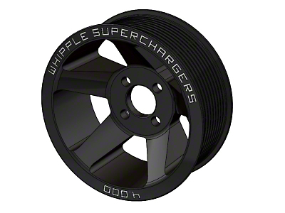 Whipple Supercharger 10-Rib Pulley - Black (07-14 GT500)