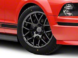 AMR Dark Stainless Wheel; 18x9 (05-09 All)