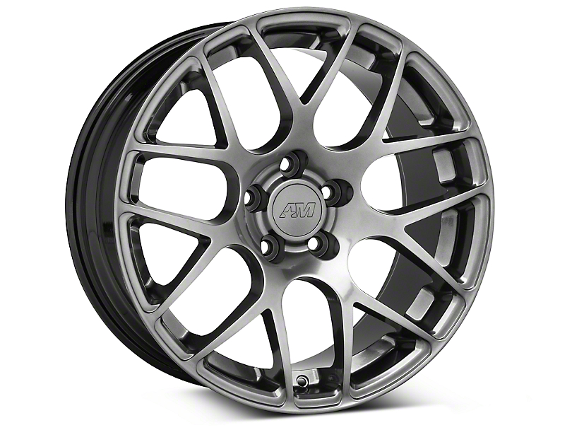 AMR Dark Stainless Wheel - 18x9 (05-14 All)