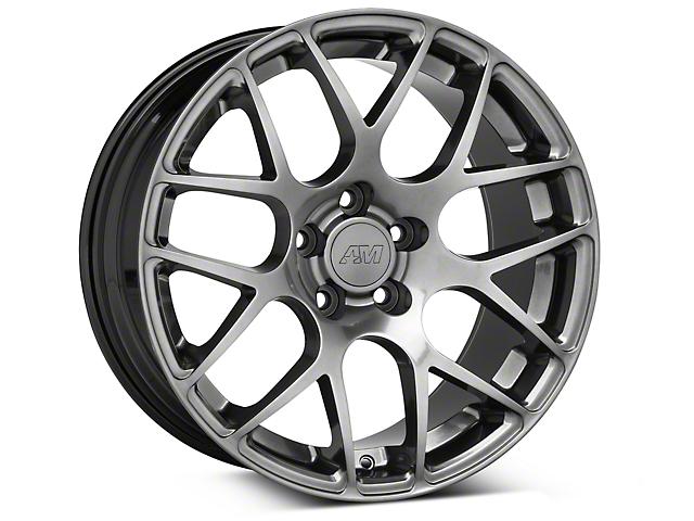 AMR Dark Stainless Wheel; 18x9 (94-98 All)