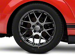 AMR Dark Stainless Wheel; Rear Only; 18x10 (05-09 All)