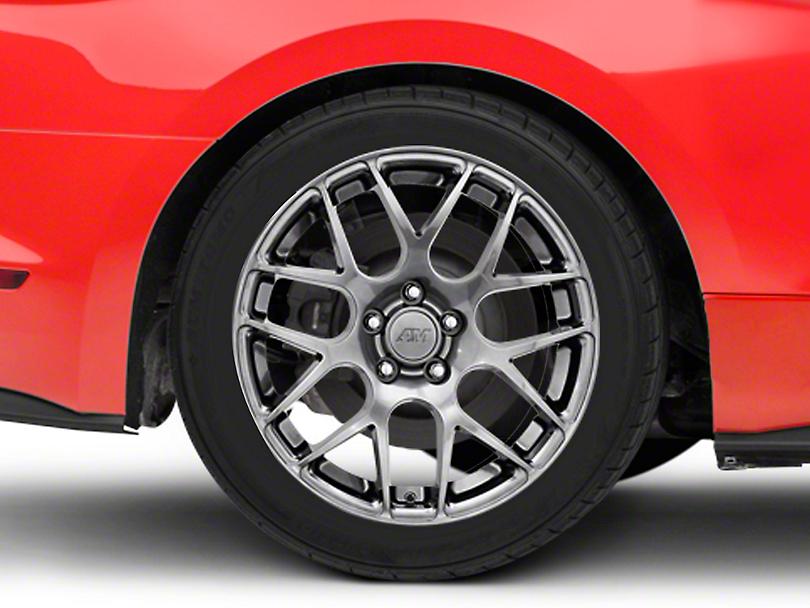 AMR Dark Stainless Wheel - 18x10 (15-18 Ecoboost, V6)