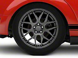 AMR Dark Stainless Wheel; Rear Only; 19x10 (05-09 All)
