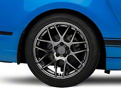 AMR Dark Stainless Wheel; Rear Only; 19x10 (10-14 All)