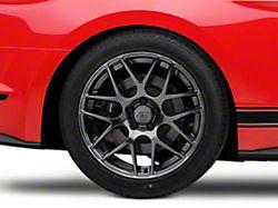 AMR Dark Stainless Wheel; Rear Only; 19x10 (15-20 GT, EcoBoost, V6)