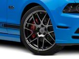 AMR Dark Stainless Wheel; 20x8.5 (10-14 All)
