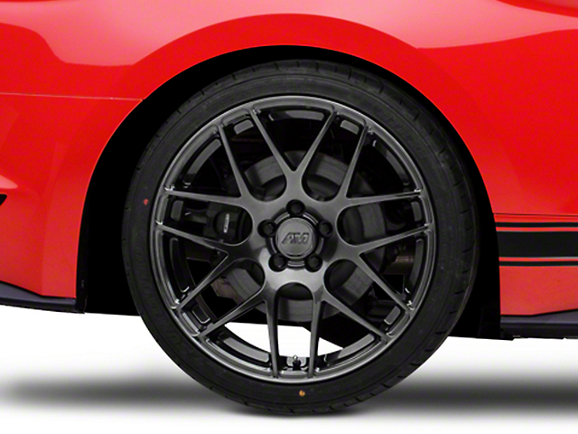 AMR Dark Stainless Wheel - 20x10 - Rear Only (15-19 GT, EcoBoost, V6)