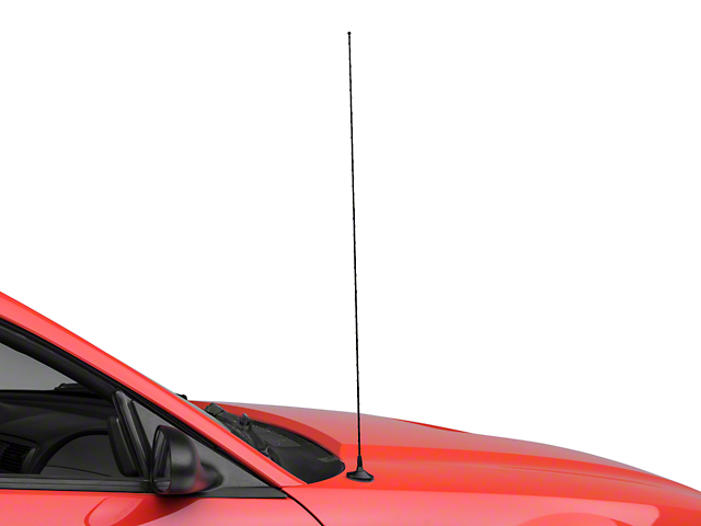 Ford Replacement Antenna; Black (99-04 All)