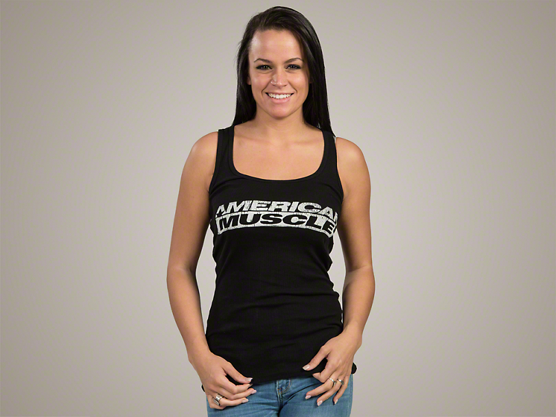 AmericanMuscle Ribbed Tank Top - Women