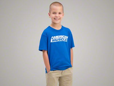 AmericanMuscle Youth Logo T-Shirt - X-Small