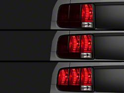 Raxiom Sequential Tail Light Kit; Plug-and-Play (05-09 All)