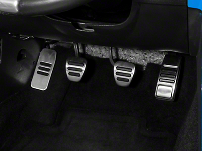 GT500 Style Pedal Covers (05-14 w/ Manual Transmission)