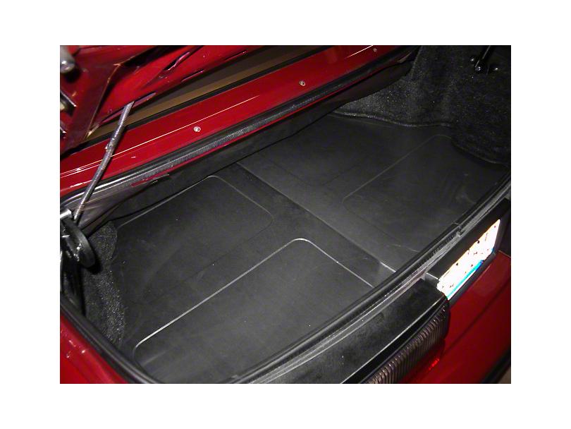 TruShield Scott Rod Fabrication Aluminum Trunk Floor Cover - Coupe (94-04 All)