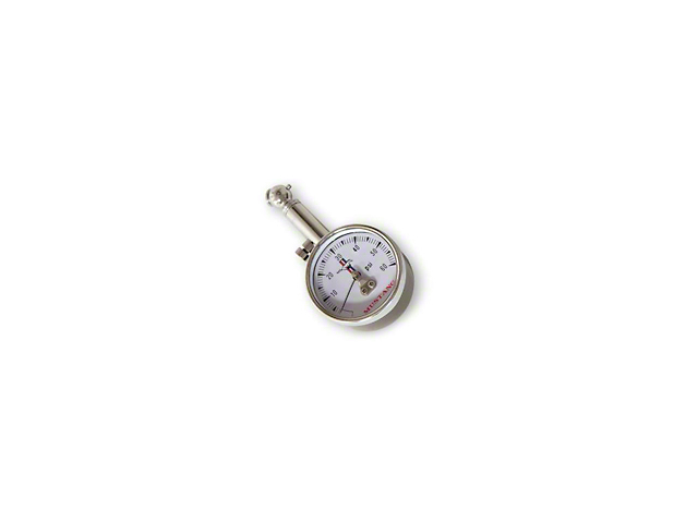 Scott Drake Tire Pressure Gauge; Tri-Bar Logo