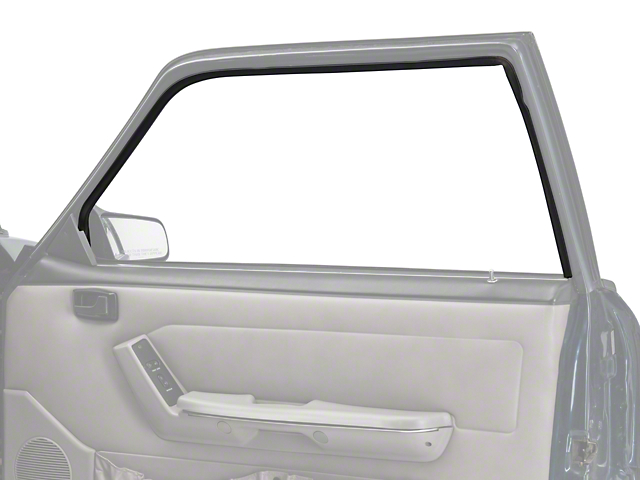 OPR Door Window Run Channel; Passenger Side (79-93 Coupe, Hatchback)