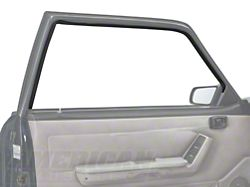 OPR Door Window Run Channel; Driver Side (79-93 Coupe, Hatchback)