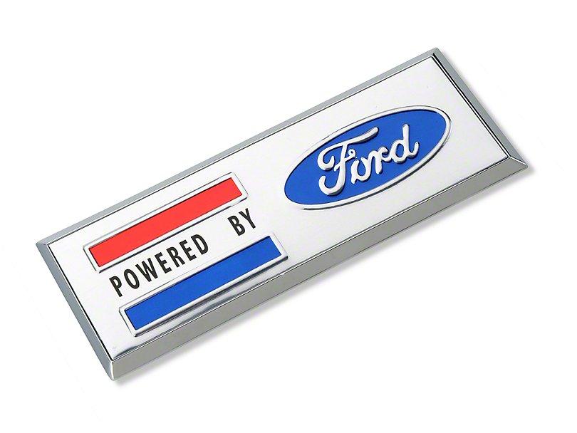 Scott Drake Powered By Ford Emblem