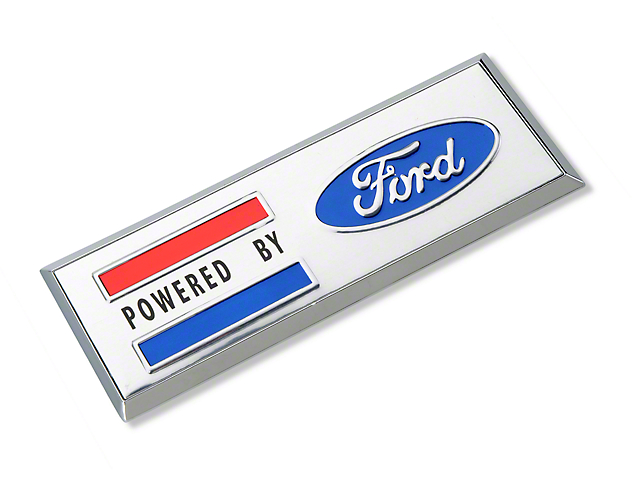 Powered By Ford Emblem
