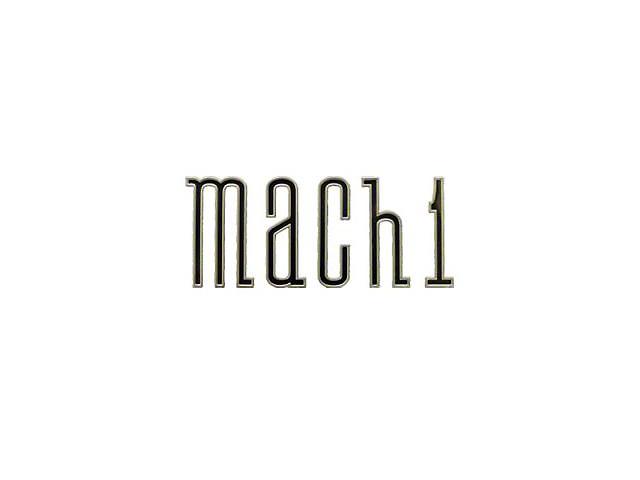 Scott Drake Mach 1 Emblem