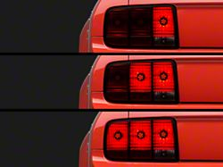 Axial LED Sequential Tail Light Kit; Cut-and-Splice (05-09 All)
