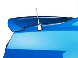 Billet Aluminum Short Antenna; Satin; 4-Inch (10-14 All)