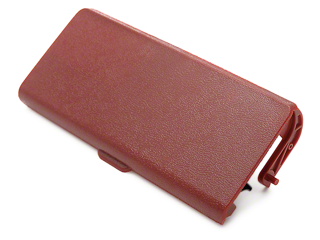OPR Replacement Console Ashtray Door; Red (87-93 All)