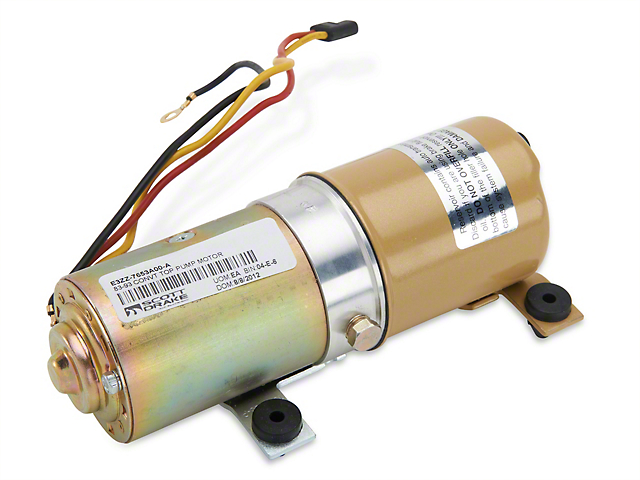 OPR Convertible Top Pump Motor (83-93 Convertible)