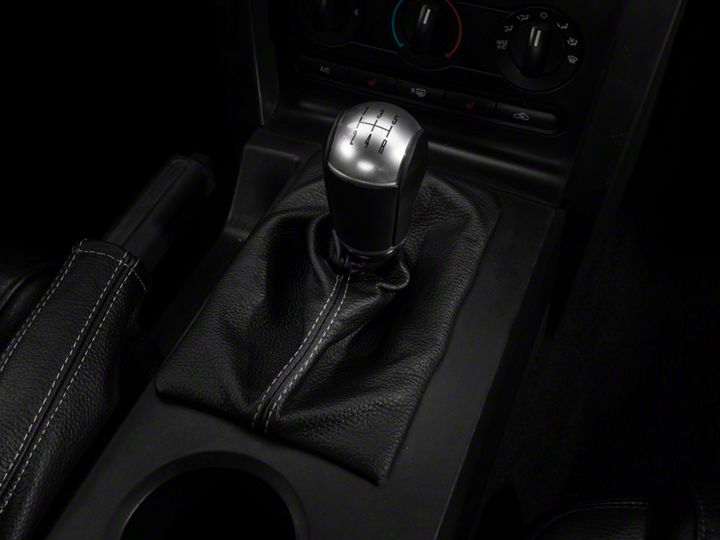 14b38ff46b18f How to Install a Premium Leather Shift Boot on an 05-09 Mustang GT ...