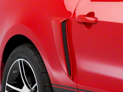 SpeedForm Pre-Painted Side Scoops - Race Red (10-14 All)