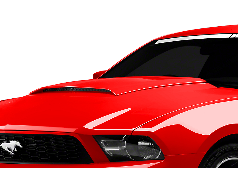 SpeedForm Hood Scoop - Unpainted (10-12 GT, V6)
