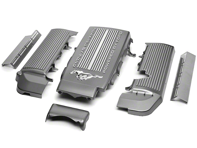 SpeedForm Intake Plenum and Fuel Rail Covers (05-10 GT)