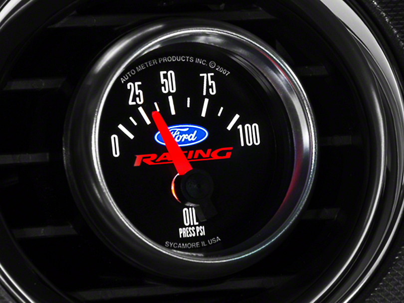 Ford Performance Oil Pressure Gauge (79-17 All)