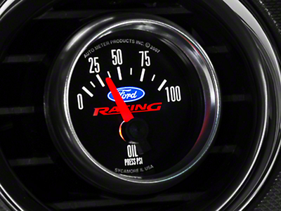 Ford Performance Oil Pressure Gauge (79-18 All)