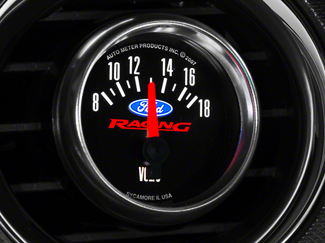 Ford Performance Voltmeter Gauge (79-14 All)