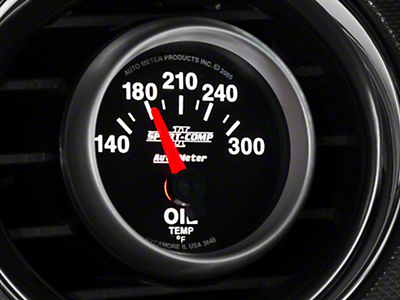 Auto Meter Sport Comp II Oil Temp Gauge - Electrical (79-18 All)