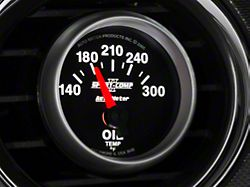 Auto Meter Sport Comp II Oil Temp Gauge; Electrical (Universal; Some Adaptation May Be Required)