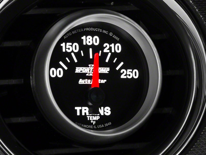Auto Meter Sport Comp Ii Transmission Temp Gauge Electrical 79 19 All