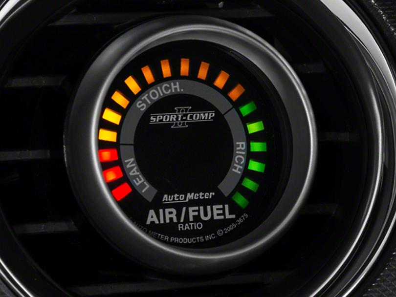 Auto Meter Sport Comp II Air/Fuel Ratio Gauge - Digital (79-18 All)