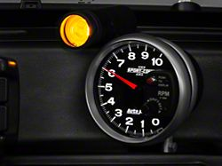 Auto Meter Sport Comp II 5-Inch Tachometer with Shift Light (Universal; Some Adaptation May Be Required)