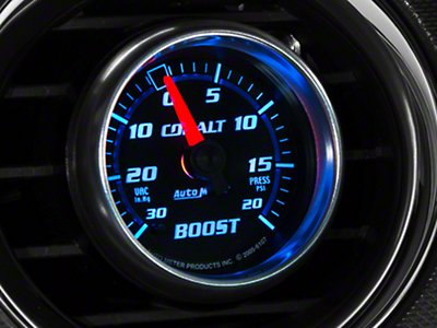 Auto Meter Cobalt 20 PSI Boost/Vac Gauge - Mechanical (79-18 All)