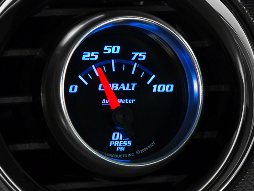 Auto Meter Cobalt Oil Pressure Gauge - Electric (79-17 All)
