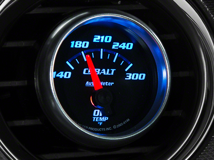 Auto Meter Cobalt Oil Temp Gauge - Electric (79-17 All)