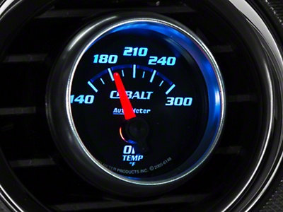 Auto Meter Cobalt Oil Temp Gauge - Electrical (79-19 All)