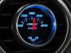 Auto Meter Cobalt Transmission Temp Gauge; Electrical (Universal; Some Adaptation May Be Required)