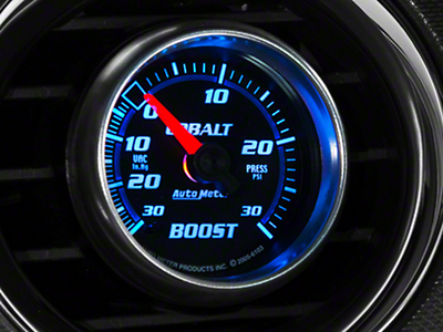 Auto Meter Cobalt Boost/Vac Gauge - 30psi Electric (79-17 All)